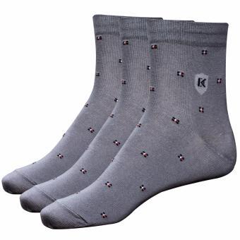 Combo 3 đôi tất vớ nam Cotton công sở Donakein- High quality products of Vietnam