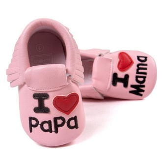 Baby Crib Tassels Non-slip Shoes Toddler Sneakers Casual Shoes - intl
