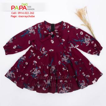Đầm Cào Bông Hoa Papa Fashion