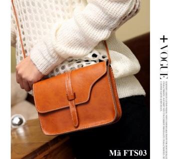 Túi đeo mini nữ FTS03 (Nâu)
