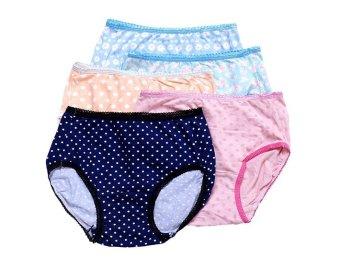 Bộ 5 quần lót bé gái từ 6 - 10 tuổi