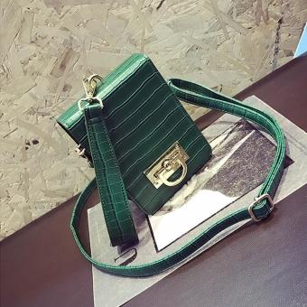 Fashion Women Handbag Shoulder Bag Messenger Large Tote Leather Ladies Purse - intl