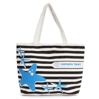 Floral Laundry Bag Shopping Bag Storage Bag Floral Storage Holder Pattern 4 - intl