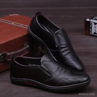 Giày lười da nam ZANI ZMG5229B-Đen