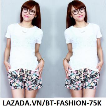 Quần Sọt (Short) Kaki Thun, Lưng Thun Mới - BT Fashion SO012A (Bông)