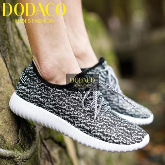 Giày Sneaker Nam Thời Trang DODACO DDC1813 (Xám nhạt)