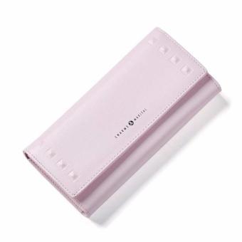 Bóp ví nữ thời trang Weichan Win Win Shop A513-55B - Hồng
