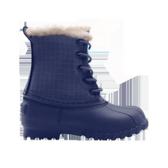 Giày Slip On Native C Jimmy Winter (Xanh Dương Đậm)