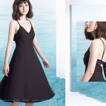 Đầm xòe Xavia Clothes Layla (Đen)
