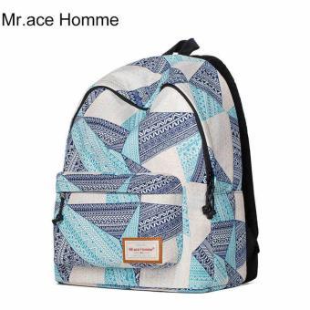 Balo Thời Trang Mr.ace Homme MR16B0276B01 / Xanh phối tím