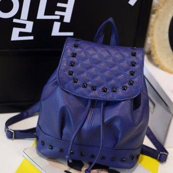 Ba lô thời trang nữ đính hạt BTS-BLDH1( xanh)