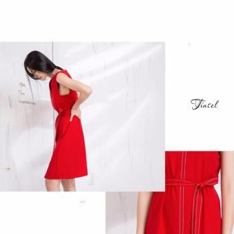 Đầm Suông Không Tay Xavia Clothes Tinsel
