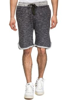 Bellfield Men's Basic Jogging Shorts (Grey)
