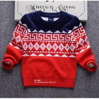 Áo len sành điệu cho bé trai-gái: