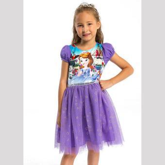 Đầm Bé Gái Disney Sofia Sfdr-0019