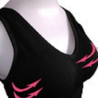 Áo Ngực Định Hình Không Gọng D-Bra Màu Đen(Size: L) + Tặng1 Quần Lót Free Size