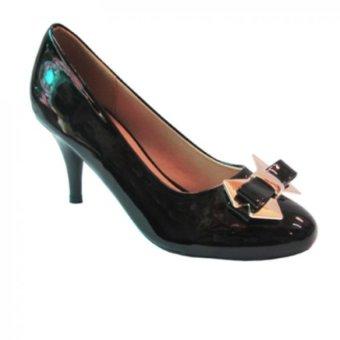 Giày cao gót UP&GO P07-500-BLA