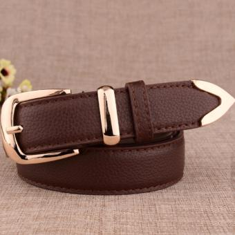 Dây lưng nữ thời trang thanh lịch ROT012 (Nâu cà phê) - 3713826