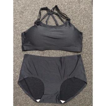 Bộ quần + áo lót nữ cao cấp- Đen (free size)