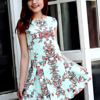 Đầm Họa Tiết Thổ Cẩm