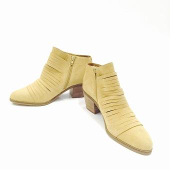 Giày boot thời trang da (Màu vàng) - US:7.5/UK:5.5/EU:37.5