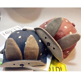Mũ, nón tai thỏ cho bé trai, bé gái cực dễ thương K59 (Hồng)