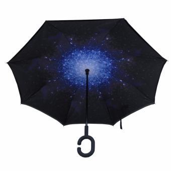 Dù Adima mở ngược 2 lớp chống 99% UV hình galaxy #FW3FRUF
