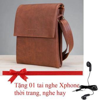 Túi đeo chéo Cao cấp HNM (Crossbody Bag) CB3 (Tặng tai nghe Xphone Thời trang, nghe hay)