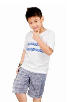 Áo Thun Tay Ngắn Genii Kids (Trắng)