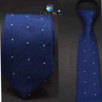 Cà vạt nam bản vừa kéo khóa HQ 2TI48 5(xanh)