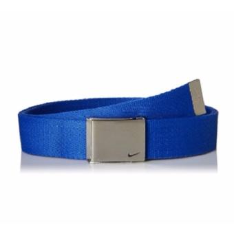 Thắt lưng (nịt) thể thao nam vải cotton xanh Nike Men's Single Web Belt (Mỹ)