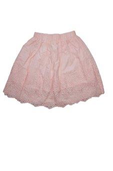 Váy hồng ren hoa UniqCeahan (Hồng)