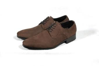 Giày tây đục lỗ Tathanium Footwear (Nâu)