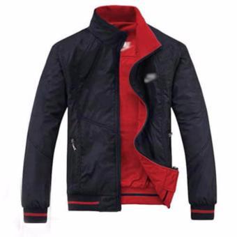 Áo Khoác Nam Vải Dù 2 Mặt KM Fashion (Đỏ)