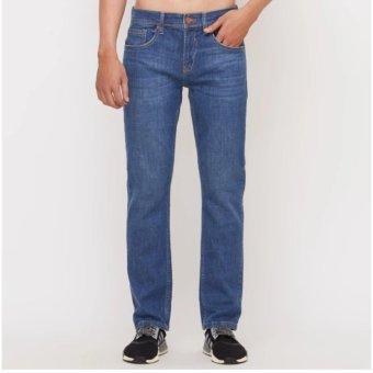 Quần jeans dài nam (xanh)