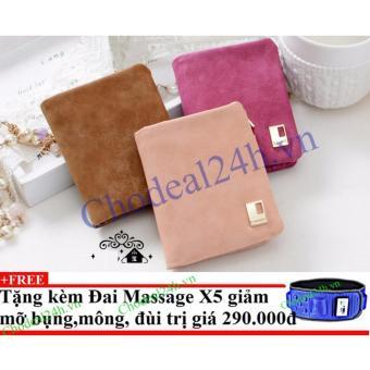 Combo 3 Ví cầm tay xinh xắn cho nữ VN02 + Tặng đai massage x5 giảm mỡ