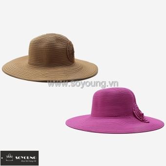 Bộ 2 Nón Nữ Rộng Vành Lớn SoYoung 2WM LR BRIM CAP 010 CA HP