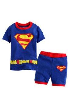 Quần áo siêu nhân Super Man 150cm