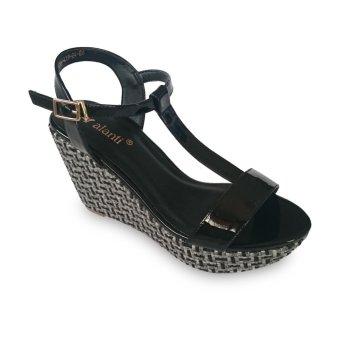 Giày sandal nữ đế xuồng cao gót 9f đế pháp