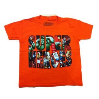 Áo thun bé trai Avengers - Tay ngắn - Size 4-5 tuổi
