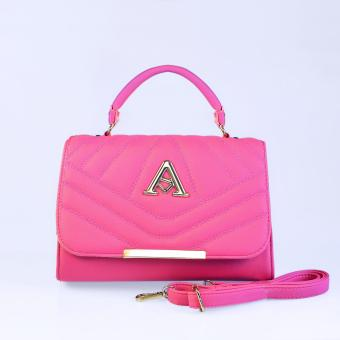 Túi xách thời trang đeo chéo TXF-01ZE (màu hồng đậm)