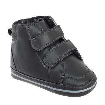 Giày vải đế mềm cho bé 12-18 tháng (Đen)