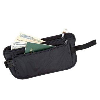 Security Bags Wallet Casual Traveling Storage Zipper Waist Bag - intl
