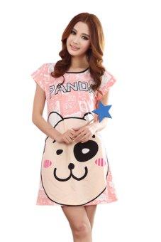 Váy ngủ nữ Family Shop VNF06 (Cam)
