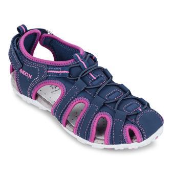 Giày sandal trẻ em J S.ROXANNE C (Xanh & Hồng)