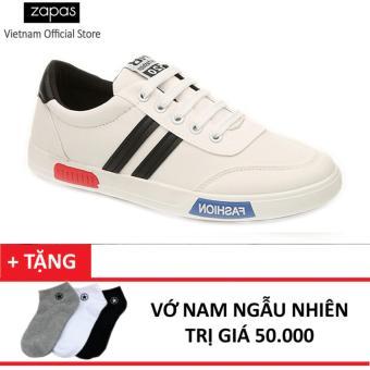 Giày Sneaker Thời Trang Nam Zapas GS017 (Trắng) + Tặng Vớ Nam