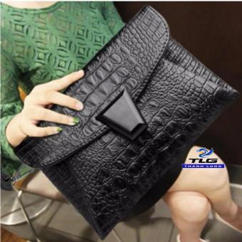 Túi Nữ Thời Trang Phong Cách Hiện Đại Đồ Da Thành Long TLG 208160 1(đen)