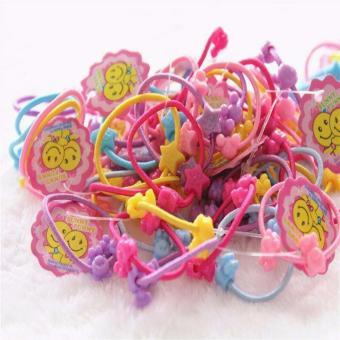 Túi 50 dây buộc tóc cho bé gái