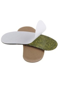 HKS 1 Pair Wholesale Fabric Shoe Pads Cushion Liner Grips Back Heel Inserts Insoles - intl