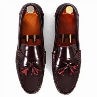 Giày mọi Alessandro Luigi LG92-80 (Nâu Đỏ)